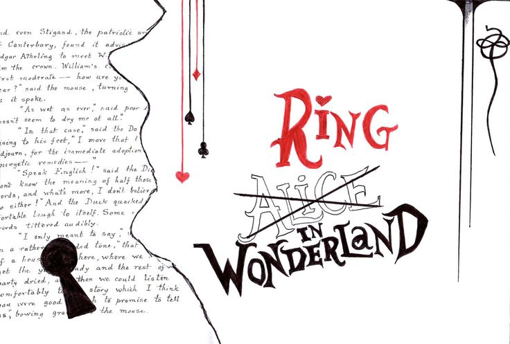 ring in wonderland collection