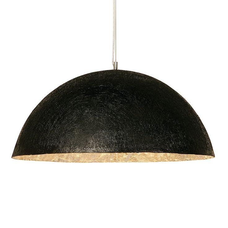 Pendelleuchte HL Shiny Wok Black Big - Metall/Kunststoff - 3-flammig