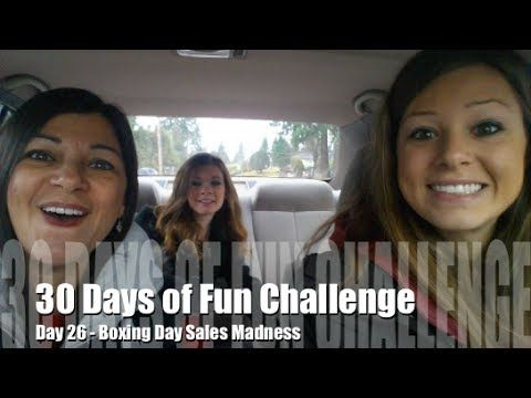 30 Days of Fun Challenge - Day 26 Boxing Day Sales Madness