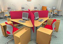事務所レイアウト事例Vol.003 事務所新設|15人までのオフィスレイアウト工房