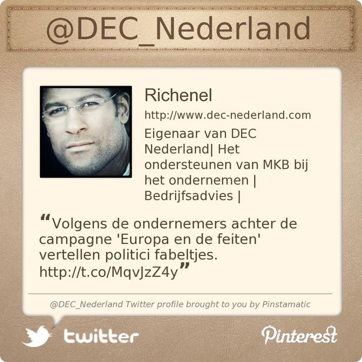 @DEC_Nederland's Twitter profile courtesy of @Pinstamatic (http://pinstamatic.com)