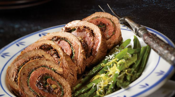 The ultimate collection of Italian flavours come together in Tre Stelle Sicilian Style Rolled Flank Steak. #ALoveAffairWithCheese