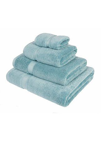 Super Soft Cotton Towel Range - Duck Egg | Towels & Bath Mats | George at ASDA