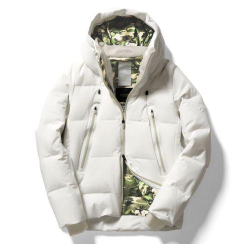 narifuri×DESCENTE Mizusawa down jacket