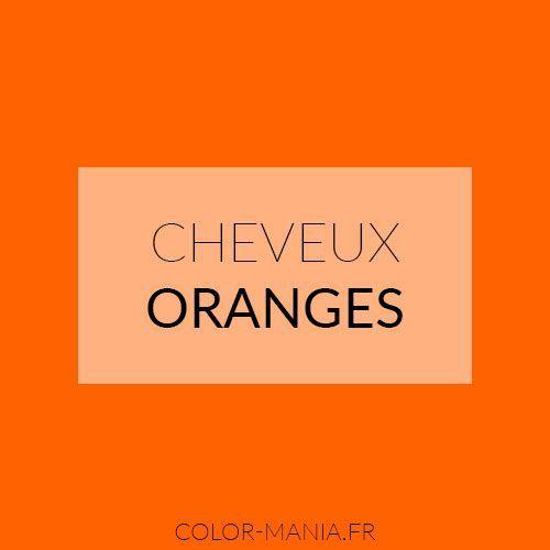 Epingle Sur Cheveux Oranges