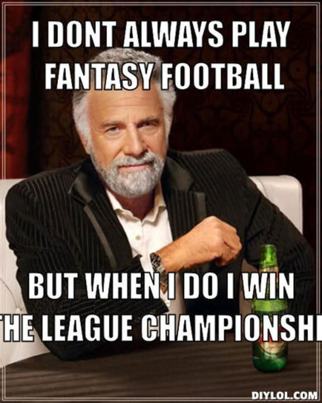 fantasy football championship memes - Google Search