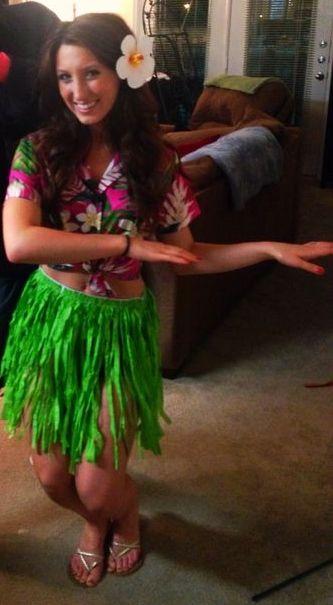 Hula girl costume.                                                                                                                                                      More