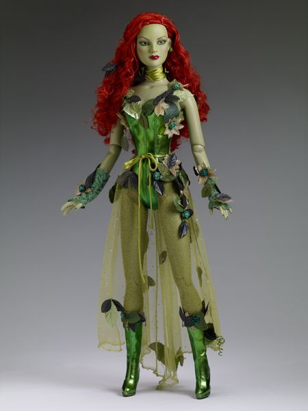 "22"" POISON IVY: This doll is the prettiest bad girl. I think of ""Batman and Robin"" (1997), when I see this,  Uma Thurman played P.I. in that movie. Her costume wasn't nearly as pretty as this doll's costume is. Jmo #tonnerscavengerhunt"