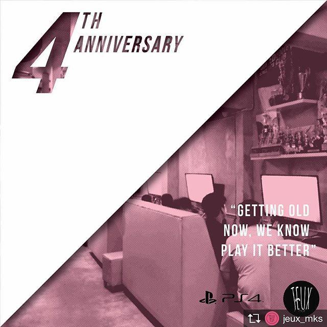 Repost from @jeux_mks @TopRankRepost #TopRankRepost Our 4th anniversaries  Thank you guys #maingamesampaimati #jeuxgame #makassar