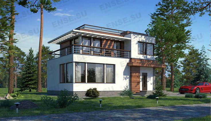 дом с угловым окном