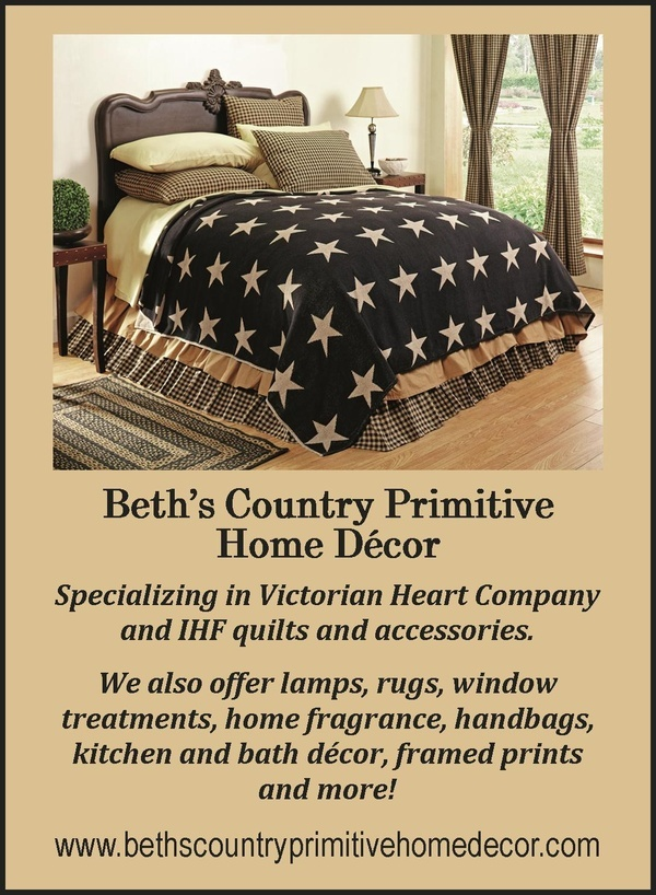 Beths Country Primitive Home Decor