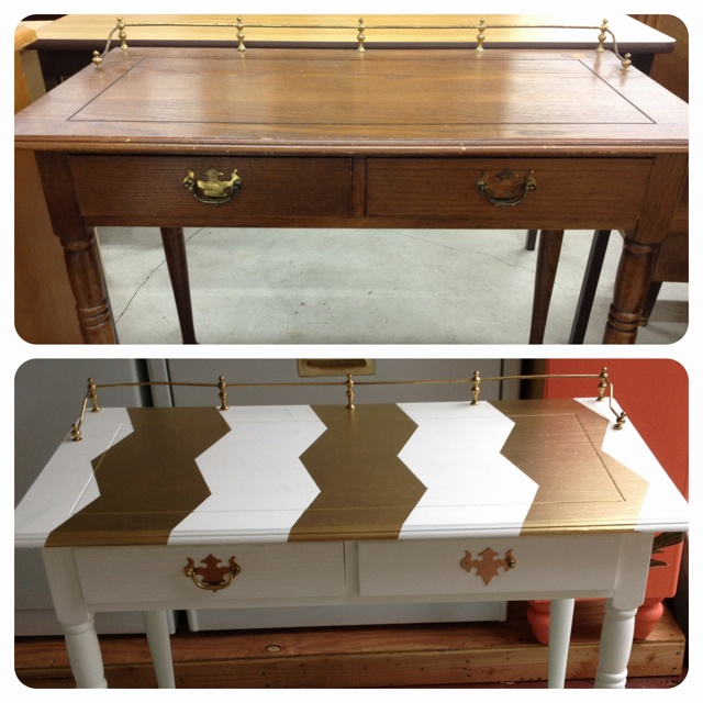 My new refurbished desk!