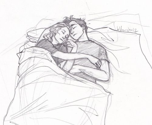 """""""we came down here to talk. We fell alseep. Accidentally. That's it."""" """"Kissed a couple of times..."""" """"Not helping!"""""""