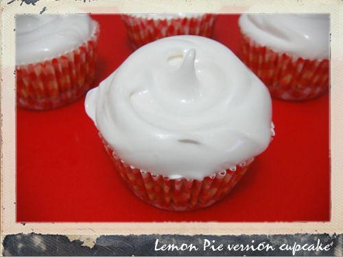 Versión de Lemon Pie para cupcakes!