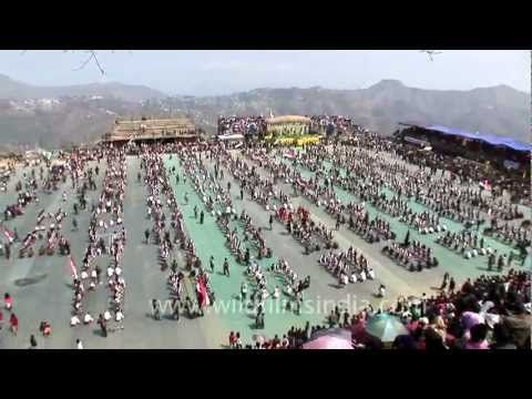 The amazing Mizo Cheraw dance, the most popular dance of the mizos.. maybe you should try this sometime..