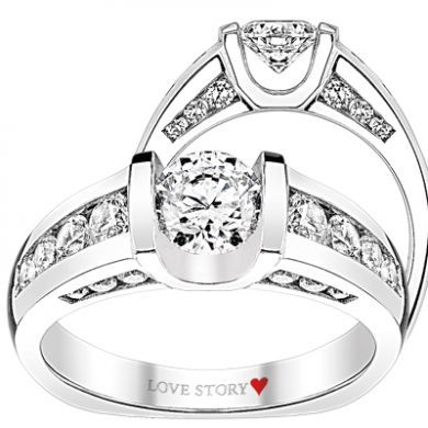 greenbergsjewel you the gold only collection best love comfort style ring total engagement story images from pinterest on dream shank mounting rings european weight carat fit white diamond