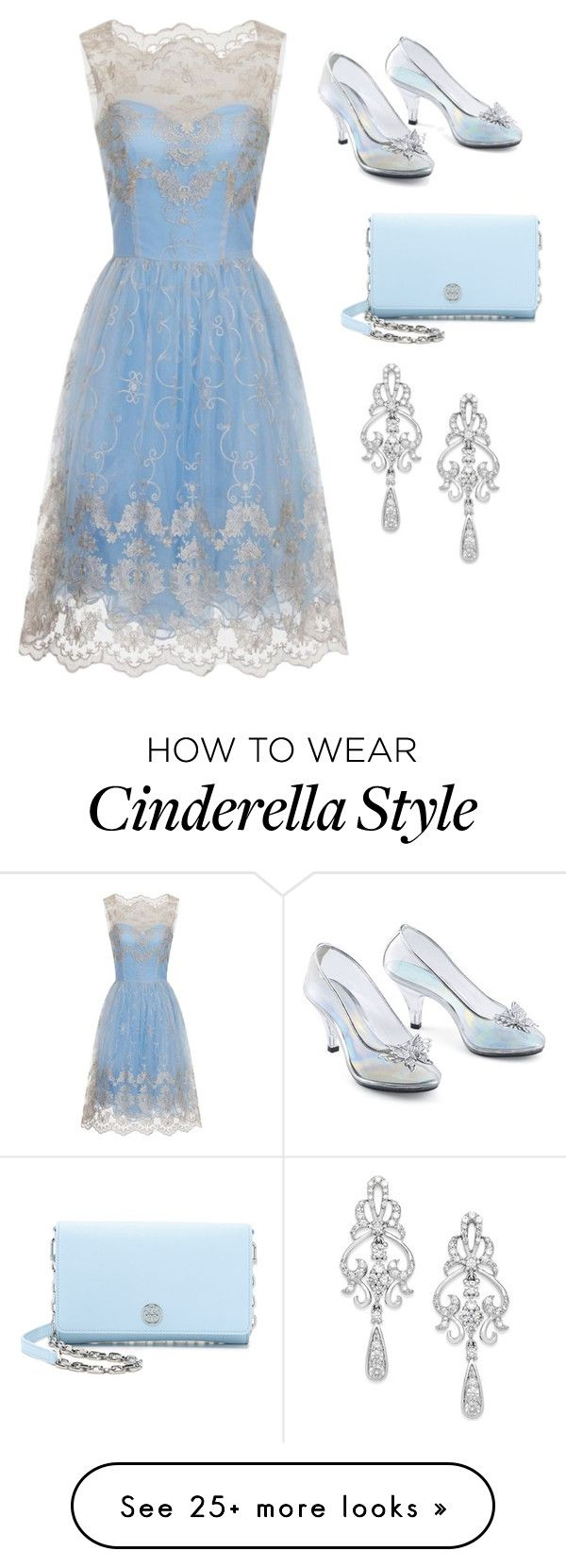 """modern Cinderella"" by xoxogosipgirlxoxo on Polyvore featuring Chi Chi, Wrapped In Love, Tory Burch and modern"