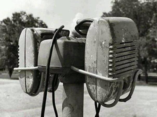 Drive-in speakers (via Kan Jy Nog Onthou?)
