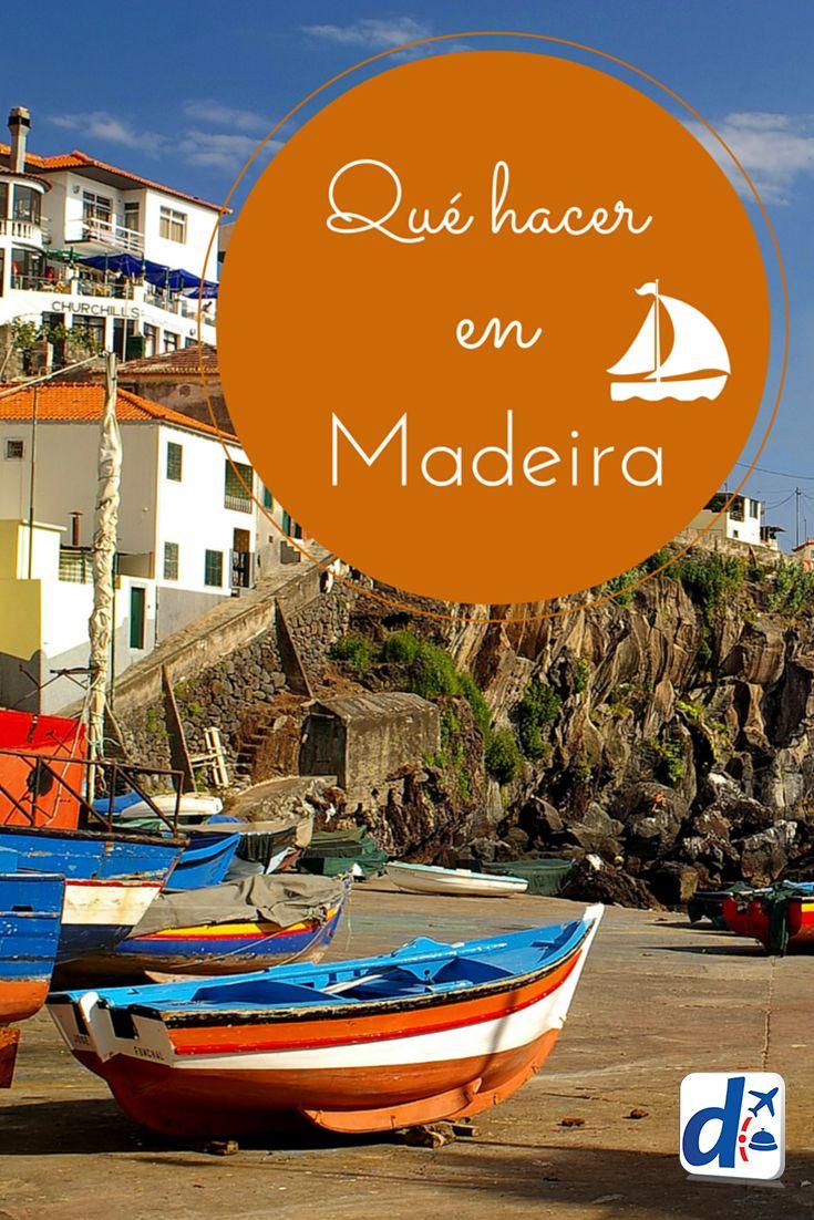 #Madeira tiene playas hermosas y cientos de atractivos para ofrecerte. ¡Descubre qué hacer en esta Isla aquí! #Trip