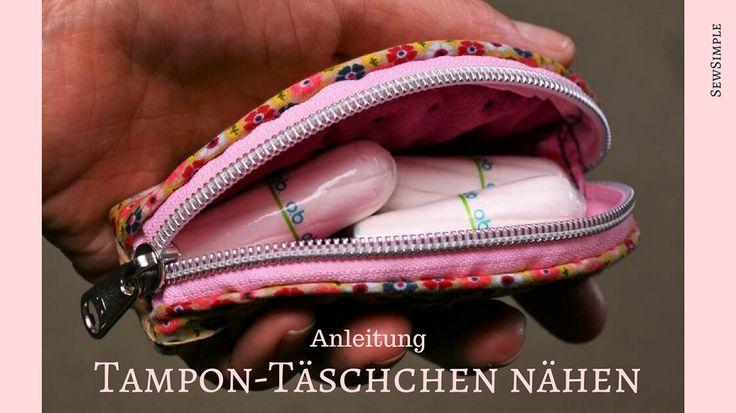 Tampon-Täschchen nähen | Anleitung