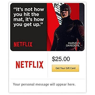 Netflix Gift Cards - E-mail Delivery -- New and awesome product awaits you, Read it now  : Gift cards