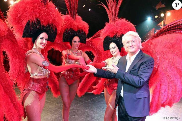 """Exclusif - Patrick Sébastien, parrain du cabaret alsacien """"Le Royal Palace"""" qui lance son nouveau spectacle """"Imagine"""" à l'occasion de ses 35 ans le 24 septembre 2015 à Kirrwiller."""