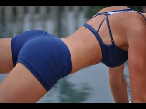 FITNESS: BEST EXERCISES FOR BUTT & THIGHS - Fitness & Workout series - YouTube