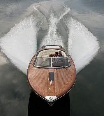 A riva Boat. A true classic !