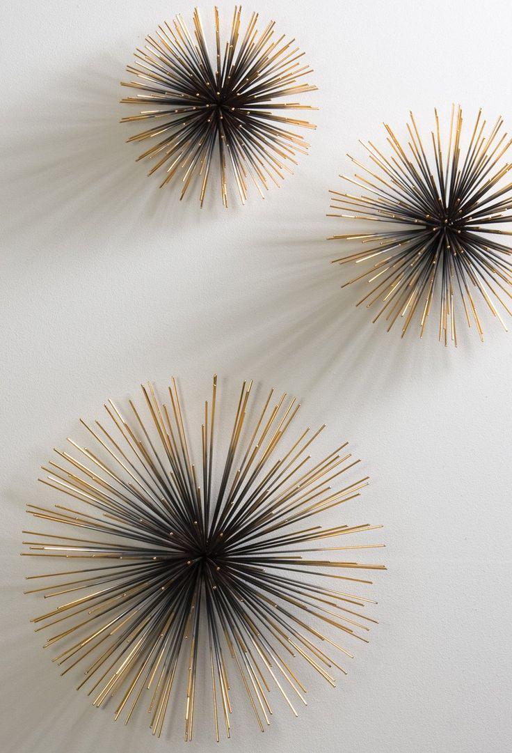 Wanddeko wohnzimmer metall  Die besten 25+ Wanddeko metall Ideen auf Pinterest | Wanddeko aus ...