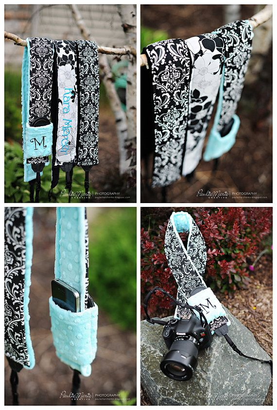 Personalized Quick Release Hipster Camera Strap Set by sewtamz, $49.99 so won't to get this for my mom and her new nikon she got for mothers day. she hates the one that came with the camera