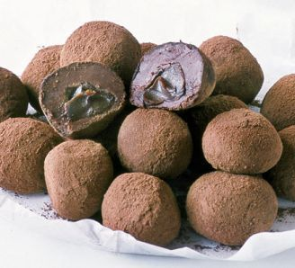 Melting middle Caramel Chocolate truffles