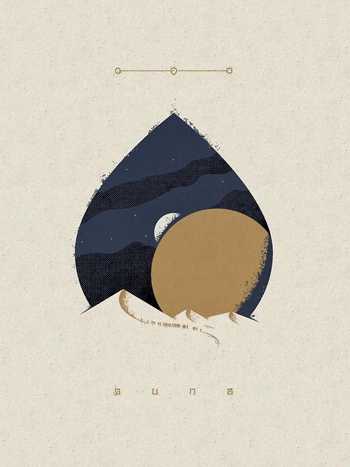 Dune Poster Art. David Moscati.