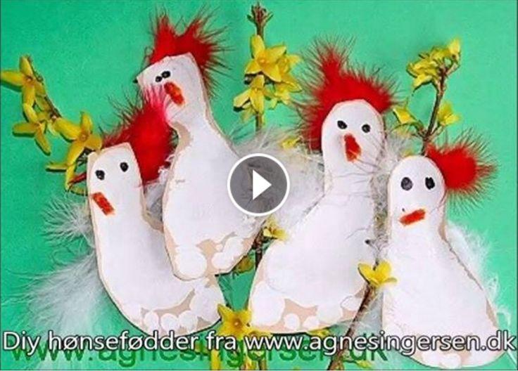 Jeg har lavet en en lille diy film til jer over mine hønsefødder, de har ligget på bloggen i et par år :)  Hvis i vil have en mere detaljeret beskrivelse så er den lige her:  http://agnesingersen.dk/blog/hoensefoedder/ #Footprint #påske #fodaftryk #hønsefødder #påskehøns #høns