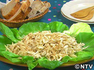 根菜の季節の定番にしたい「ごぼう、れんこん、鶏肉のごまマヨサラダ」のレシピを紹介!
