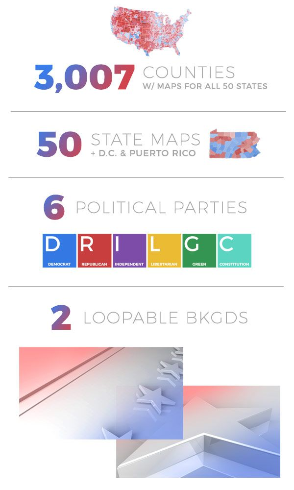 Election Map Pinterestte Hakkında Den Fazla Fikir - Blended map of the us election