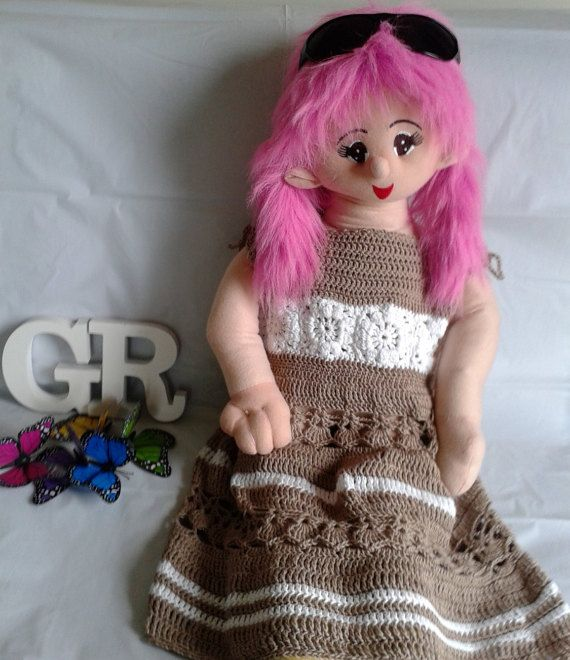 Boho Crochet Dress by LittleGypsyRoseBoho on Etsy