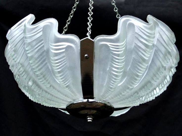 944 best art deco lighting images on pinterest art deco lighting art deco opaque shell ceiling light aloadofball Image collections