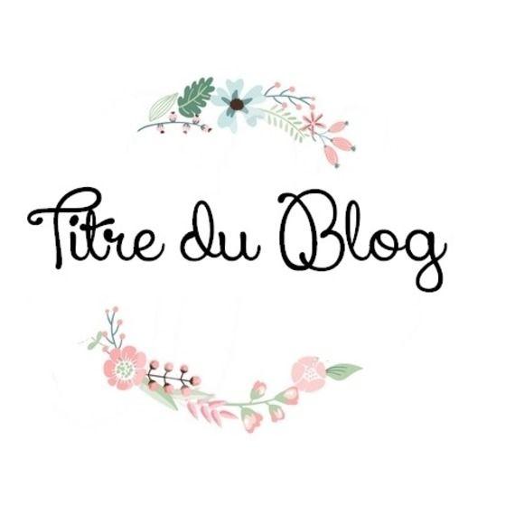 Ma quatrième création : une bannière pour blog, en forme