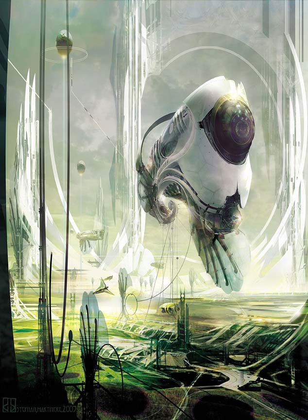 7 best images about stephan martiniere on pinterest blog for Nautilus garden designs