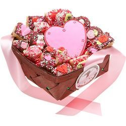 Romantic Cookie Gift Basket