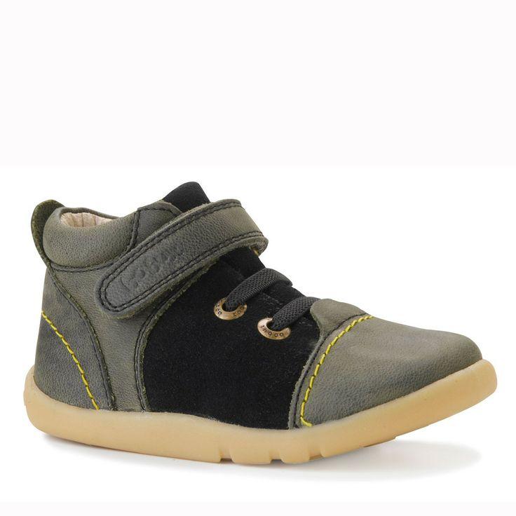 Zapatos Bobux Roly Poly Casual Shoe. Color Verde. Talla 18 Mxfnb0kg