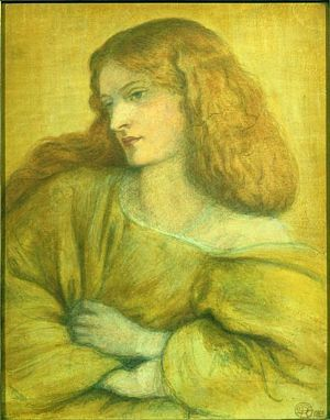 Woman in Yellow (1863) D G Rossetti