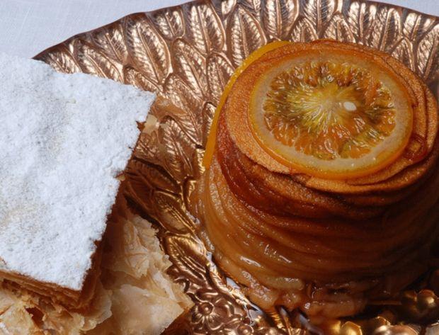 Gâteau de pommes en tatin de Marc Meneau