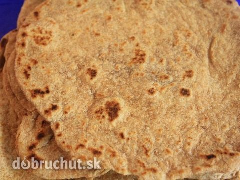 Fotorecept: Domáce tortilly zo špaldovej múky