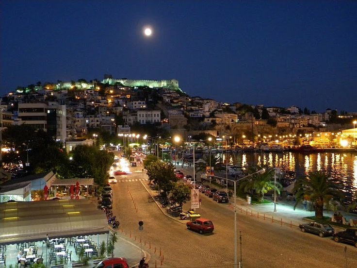 A night in Kavala