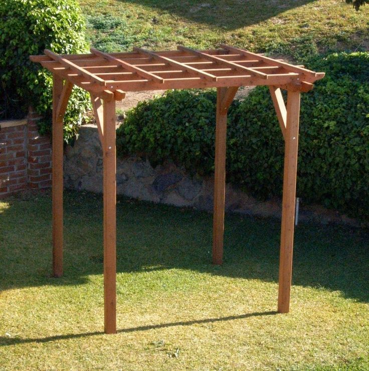 Small Pergola Kits, Built to Last Decades | Forever Redwood