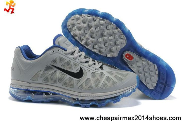 Cheap Nike Air Max 2011 Mens Charcoal Blue Black 429889-510 Sports Shoes  Shop