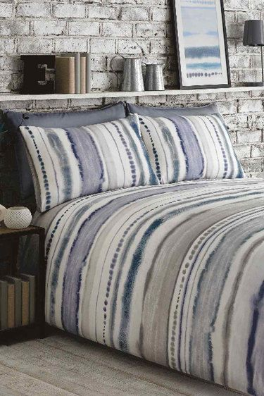 Woodstock Bedding Set, Blue