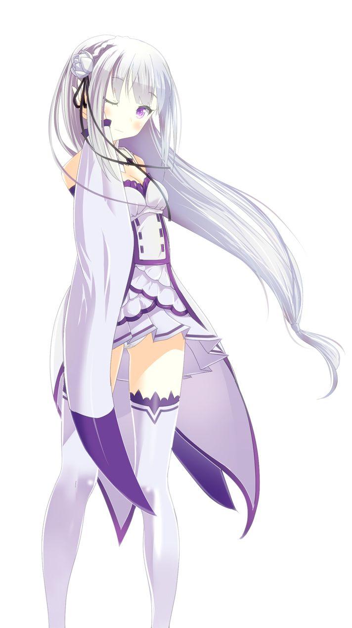 Emilia trong 2020 | Anime, Hình ảnh, Nghệ thuật
