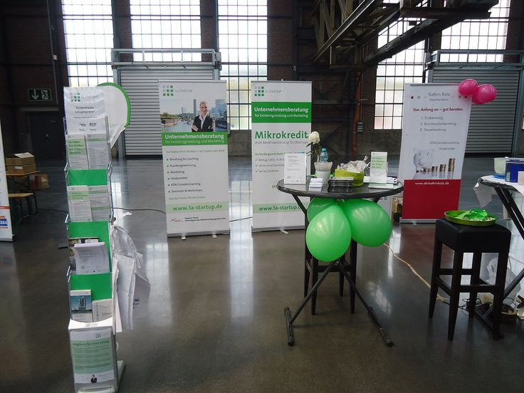 Messestand 1a-STARTUP